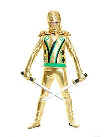Ninja Avenger Gold Armor Boys Costume