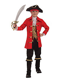 Kids Captain Cutless Pirate Costume