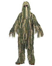 Kids Ghillie Suit One Piece Costume