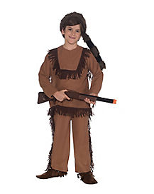 Kids Davey Crocket Costume