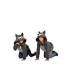 Kids Anime Wolf Costume