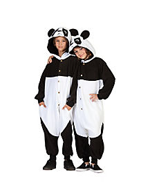 Kids Panda Jumpsuit Costume