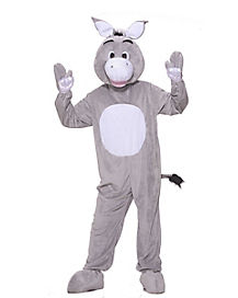 Teen Donkey Mascot One Piece Costume