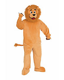 Lion Mascot Teen Costume
