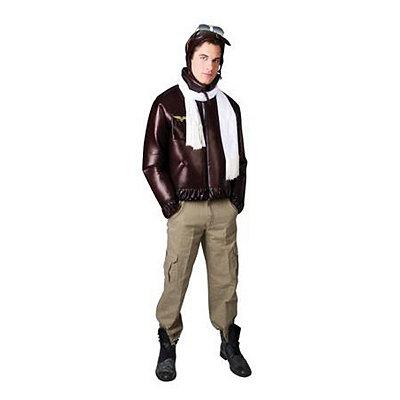 Vintage Aviator Adult Mens Plus Size Costume $44.99 AT vintagedancer.com