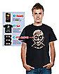 Adult Digital Dudz Mugshot Zombie T-Shirt