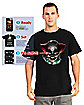 Adult Digital Dudz Psychopath Clown T-Shirt