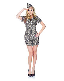 US Army Adult Womens Costume
