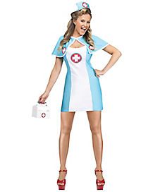 Pin Up Nurse Adult Womens Costume