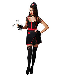 Adult Racy Midnight Nurse Costume