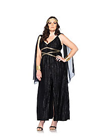 Dark Goddess Adult Plus Size Costume