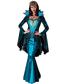 Adult Medieval Queen Costume - Theatrical