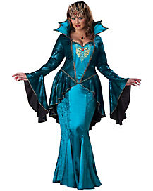 Adult Medieval Queen Plus Size Costume - Theatrical