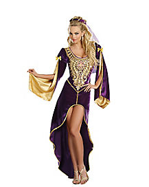 Adult Queen of Courts Renaissance Costume