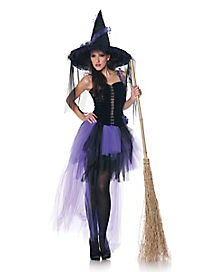 Adult Black Magic Witch Costume