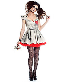 Adult Voodoo Doll Dress Costume