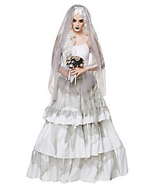 Victorian Ghost Bride Adult Womens Costume