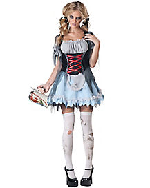 Zombie Beer Maiden Adult Womens Costume