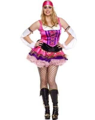 Temptress Gypsy Adult Womens Plus Size Costume