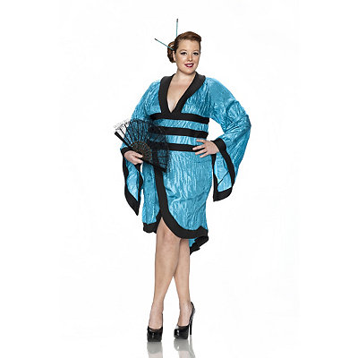 Geisha Gorgeous Adult Womens Plus Size Costume