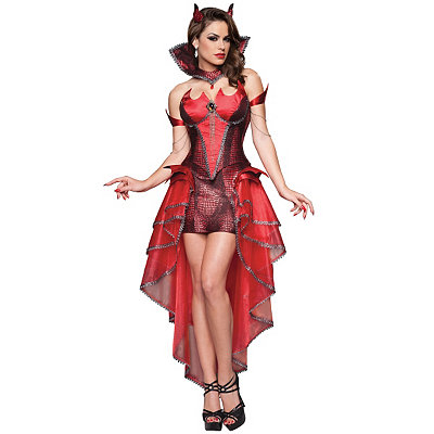 Devilicious Womens Theatrical Costume