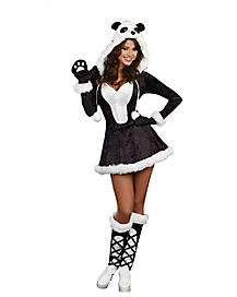 Adult Panda Bear Baby Costume