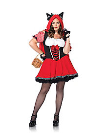 Red Riding Wolf Adult Womens Plus Size Costume