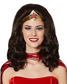 Wonder Woman Wig - DC Comics