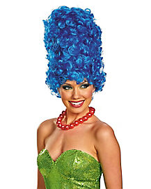 Simpsons Marge Glam Wig