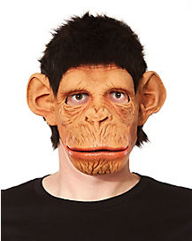 Monkey Mask with Hair