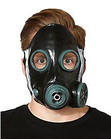 Black Anti Gas Mask