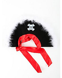 Marabou Pirate Child Hat