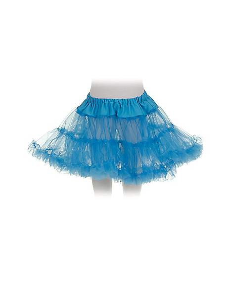 petticoat blue child skirt spirithalloween