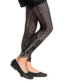 Black Studded Fishnet Tights