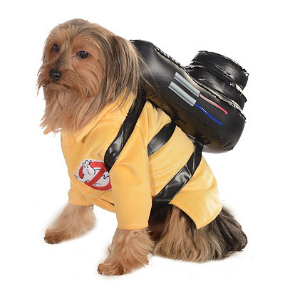 Ghostbuster Jumpsuit Pet Costume