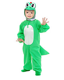 Toddler Green Dinosaur One Piece Costume