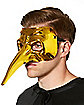 Gold Chrome Venetian Mask