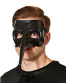 Venetian Chrome Black Mask