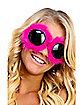 Pink Fur Goggles