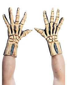 Skeleton Bone Gloves