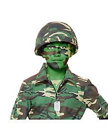GI Army Camo Helmet