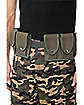 Army Belt With Pouches