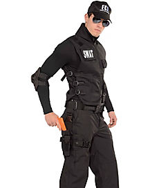 SWAT Gun and Leg Holster