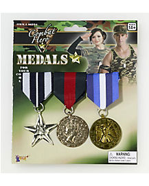 Combat Hero Star Medals