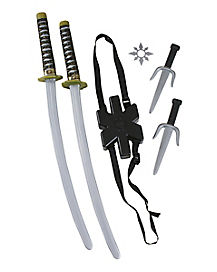 Ninja Double Sword Weapon Set