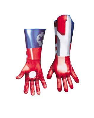 iron man patriot gloves for bodysuit