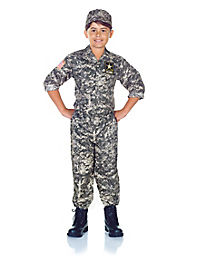 Kids US Army Costume