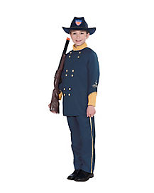 Union Officer Child Costume