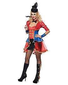 Ringmaster Adult Womens Costume