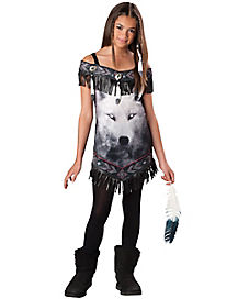 Tween Tribal Spirit Costume